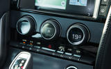 Jaguar F-Type 2.0 climate controls