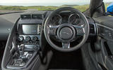 Jaguar F-Type 2.0 dashboard