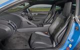 Jaguar F-Type 2.0 front seats