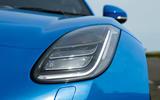 Jaguar F-Type 2.0 LED headlights