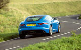 Jaguar F-Type 2.0 rear cornering