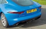 Jaguar F-Type 2.0 rear end
