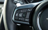 Jaguar F-Type 2.0 steering wheel controls