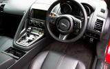 Jaguar F-Type Coupé driver's seat