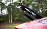 Jaguar F-Type boot lid