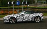 Jaguar F-type coupé begins testing