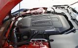 5.0-litre V8 Jaguar F-type R coupé