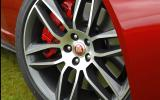 20in Jaguar F-type R coupé alloys