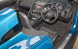 Jaguar Project 7 interior