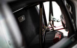 Jaguar XE SV Project 8 2018 road test review seatbelt bracket