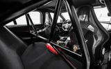 Jaguar XE SV Project 8 2018 road test review cabin rear
