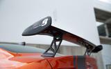 Jaguar XE SV Project 8 2018 road test review spoiler