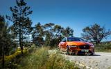 Jaguar XE SV Project 8 2018 road test review road plants