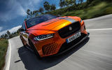 Jaguar XE SV Project 8 2018 road test review hero action