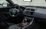 Jaguar XE SV Project 8 2018 road test review cabin