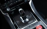 Jaguar XE SV Project 8 2018 road test review gearstick
