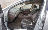 Jaguar XF front seats