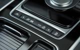 Jaguar XF various drive modes