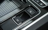 Jaguar XF electronic parking brake