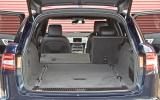 Jaguar XF Sportbrake boot space
