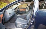 Jaguar XJ front seats