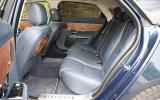Jaguar XJ rear seats