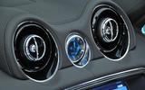 Jaguar XJ air vents