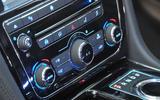 Jaguar XJ climate controls