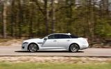 Jaguar XJ side profile