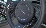 Jaguar XJ steering wheel