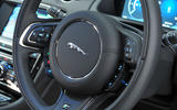 Jaguar XJ steering wheel buttons