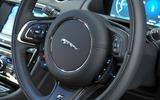Jaguar XJ steering wheel buttons