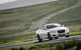 Jaguar XJR cornering
