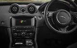 Jaguar XJR dashboard