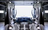 Jaguar C-X75 gullwing doors