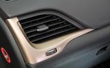 Jeep Cherokee air vents