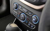 Jeep Cherokee climate controls