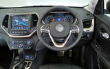 Jeep Cherokee dashboard