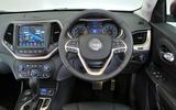 Jeep Cherokee dashboard
