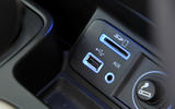 Jeep Cherokee multimedia ports