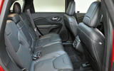 Jeep Cherokee rear seats
