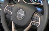 Jeep Cherokee steering wheel