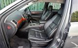 Jeep Grand Cherokee front seats
