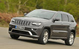 Jeep Grand Cherokee cornering