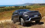 Jeep Grand Cherokee off-roading