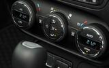 Jeep Renegade climate controls