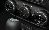 Jeep Renegade climate controls