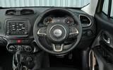 Jeep Renegade dashboard