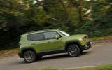 Jeep Renegade side profile