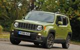 3.5 star Jeep Renegade